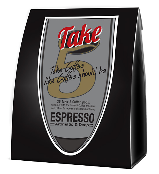 take-5 coffee Pods Espresso